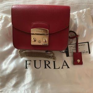 FURLA Red small bag